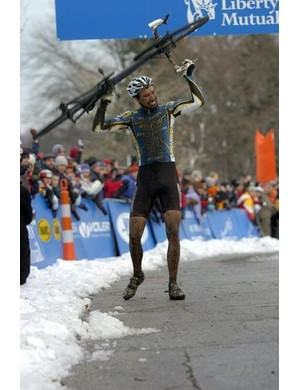 Winning the US Cyclocross championships