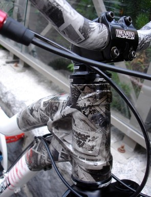 How cool is the front end detail? High street fashion, on bikes.