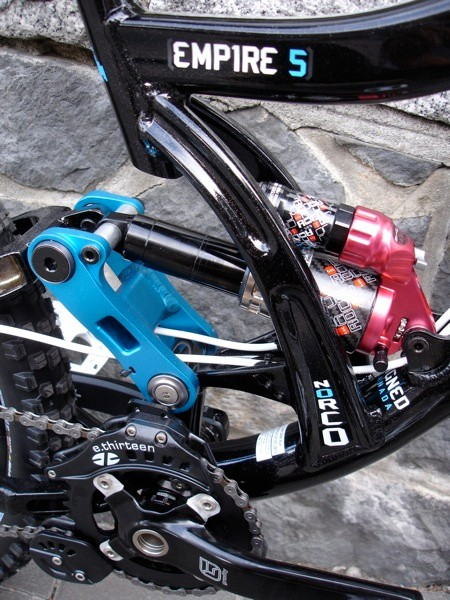 Plush and effective , an FSR design powers the Roco shock