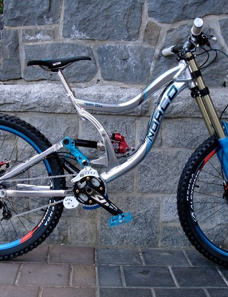 The Team DH. Air Sprung Front and Rear