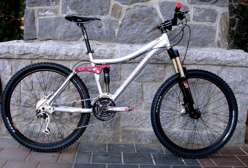 The Fluid 2, a great looking trail bike