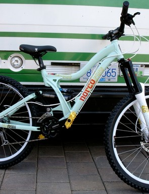 The Vixa, Norco's first Women's Freeride bike