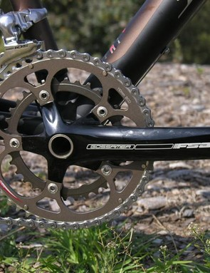 FSA compact chainset gives a decent gear range for everything but super-steep climbs