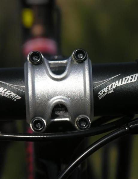 Reassuring four-bolt clamp