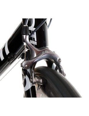 Excellent Shimano Dura-Ace brakes add to the Quantum's air of confidence