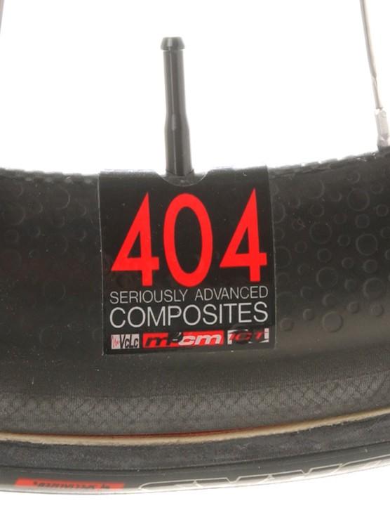 Zipp 404 wheels have definite go-faster potential