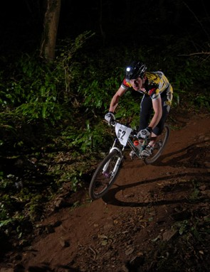 The night time trial took place on Friday night.