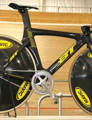 The BT Blade that will be used by Australia's Olympic track cyclists