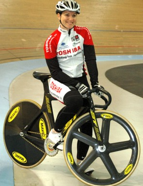 Anna Meares and the BT Stealth