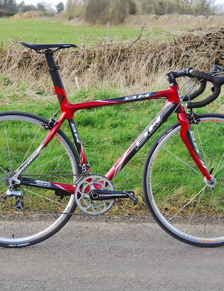 BH Global Concept G-3 looks a million dollars but is let down by frame and fork flex