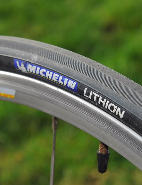 Michelin's Lithion tyres are fast-rolling and durable, but not the grippiest