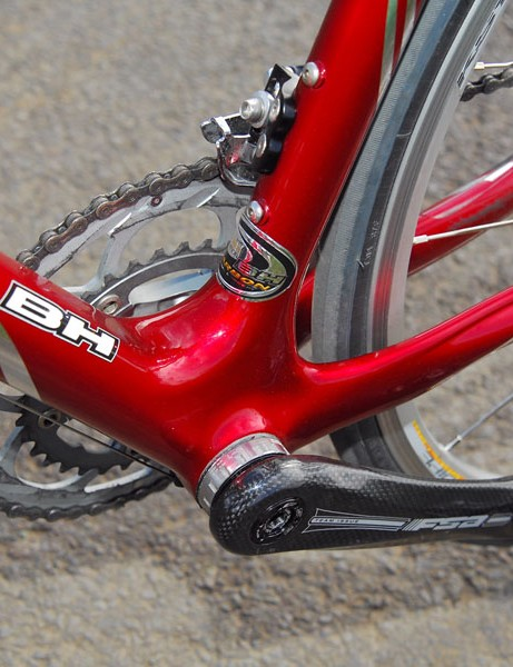 Chainstay flex was also a factor in the BH's handling problems