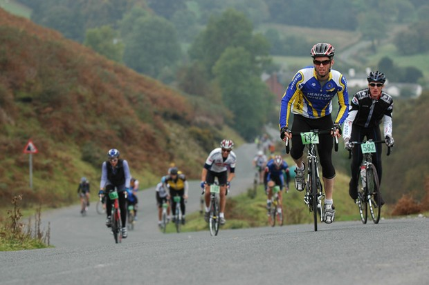 Riders test themselves in the Autumn Epic