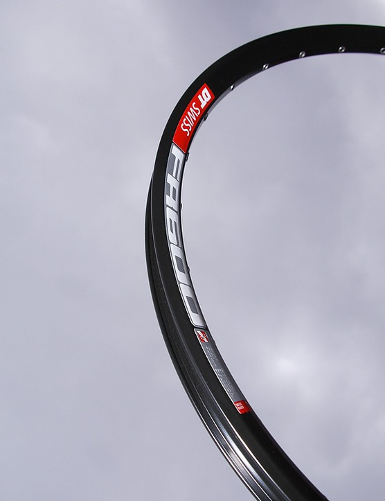 The new DT Swiss FR600 rim promises increased resistance to dents as compared to its predecessor.