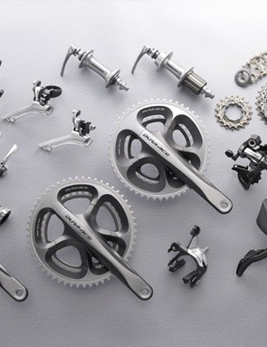 The 2009 Shimano Dura-Ace 7900 mechanical group in all its glory.