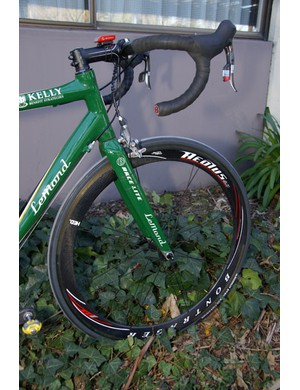KBS-Medifast is also supported by Bontrager for its wheels.