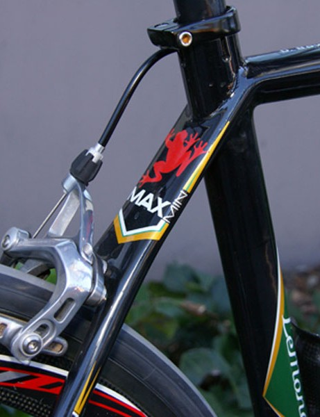 LeMond's Min/Max design philosophy includes such designs features as a very wide seat stay yoke..
