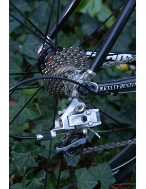 The Red rear derailleur keeps SRAM's road-specific Exact Actuation of Force and Rival feature