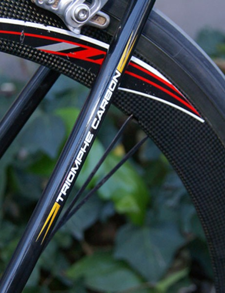 The Triomphe Carbon isn't LeMond's lightest but it's awfully close and marginally more rigid.