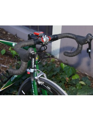 KBS-Medifast bikes are outfitted with SRAM red groups for 2008.