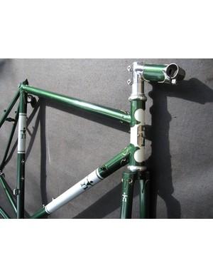 Custom lugged steel touring bike
