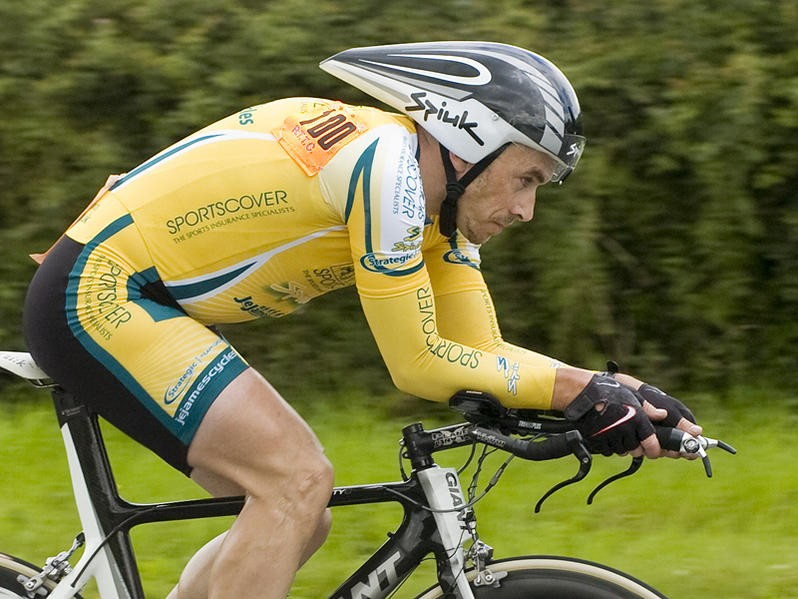 Kevin Dawson won the Holme Valley Wheelers 50