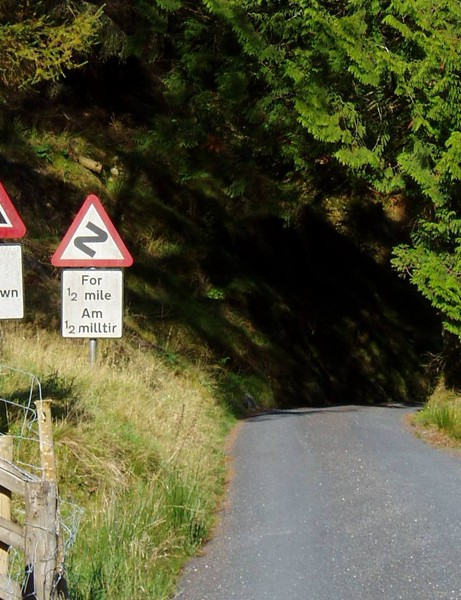 The Devil's staircase is one of the tougher climbs
