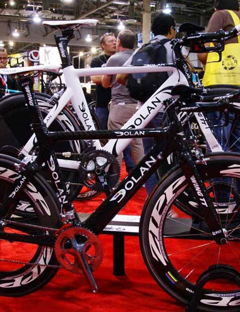 The Dolan stand included a wealth of aero machines including the Aria and Stryke models.