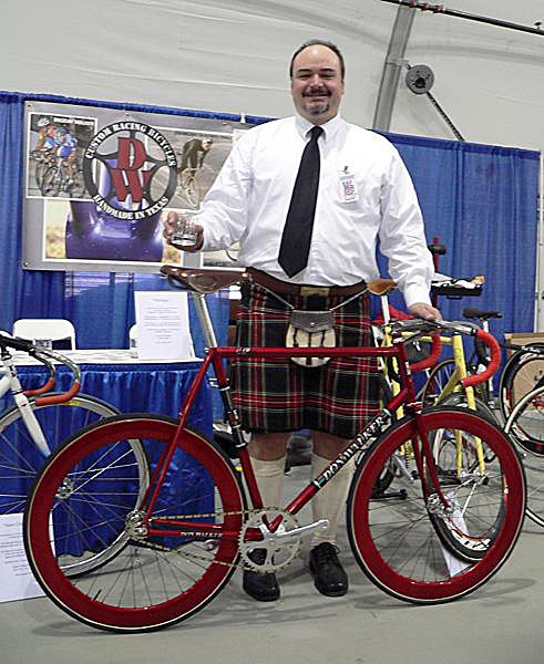 NAHBS organiser Don Walker at the 2007 show