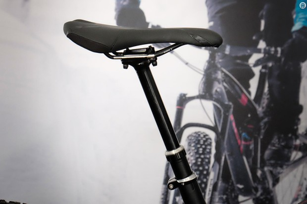 The new Bontrager Drop Line seatpost