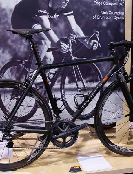 Also on hand in the Edge booth was this superlight carbon creation from Nick Crumpton.