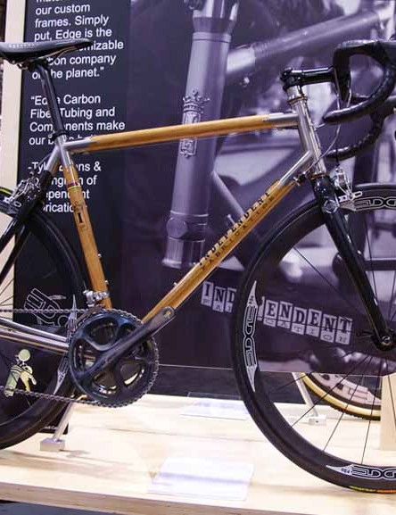 What? Independent Fabrications is making bikes from wood now?