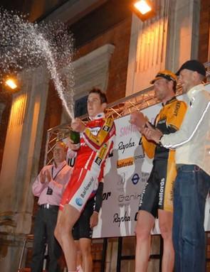 Elite Criterium podium