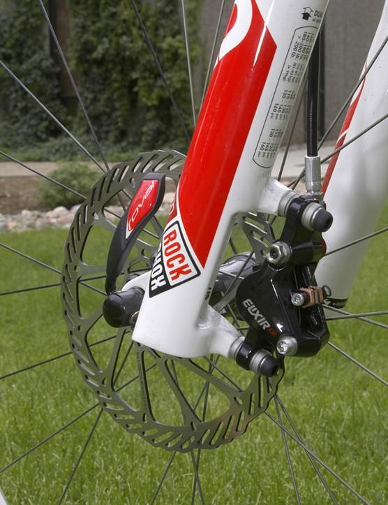 The new Elixir represents Avid's next generation of hydraulic disc brake technology.
