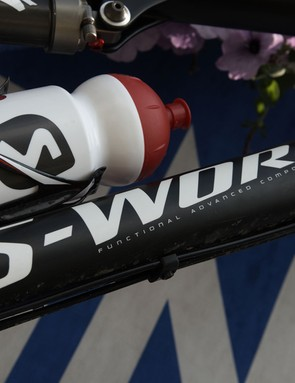 The FACT carbon downtube