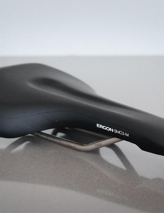 Ergon's SMC3 saddle blends comfort with performance