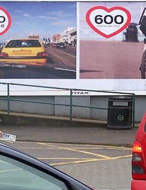 Brighton had a billboard campaign to help in its bid