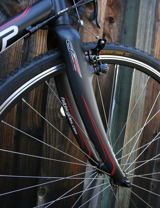 Felt's custom carbon 'cross fork.