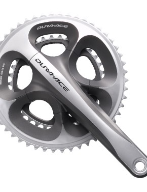 New for 2009 will be a compact Dura-Ace crankset.