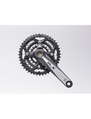 Triple crankset with 44 tooth big ring