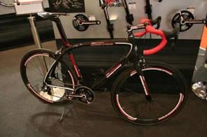 FSA was also showing off some carbon road gear
