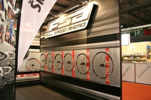 Wheels on display in FSA's booth