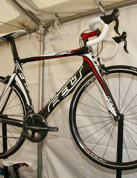 Felt's DA time trial/triathlon frame gets an upgrade in fiber blends and resins.