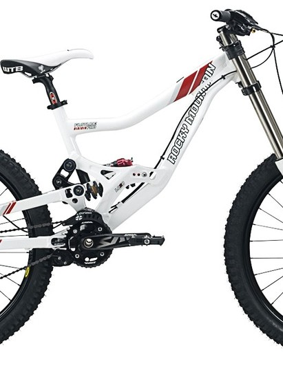 One of Dave Smutok's Rocky Mountain machines for 2009: the Flatline Pro.