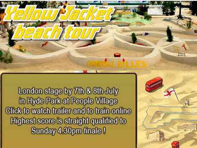 Yellow Jacket Beach Tour
