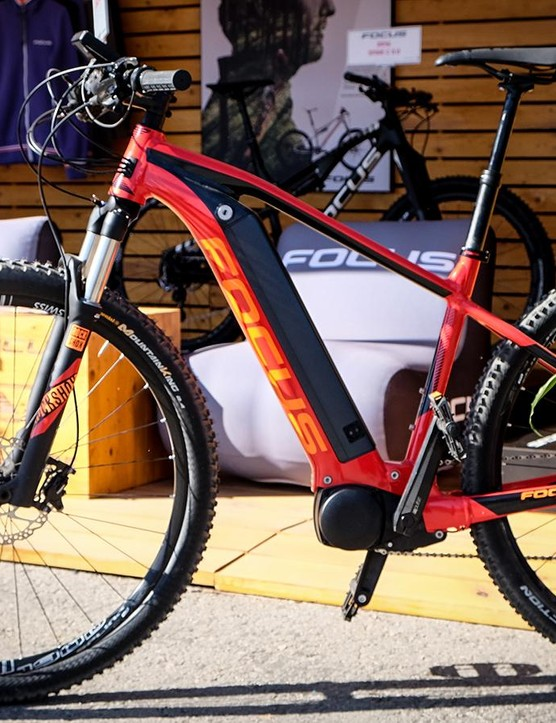 Puns aside, there was a significant focus on e-MTB's at Sea Otter this year