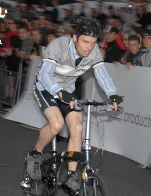 Start of Folding Bike Race final