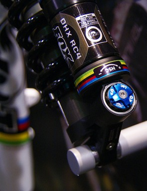 The new DHX RC4 shares the same adjustable bottom-out feature as the current DHX 5.0
