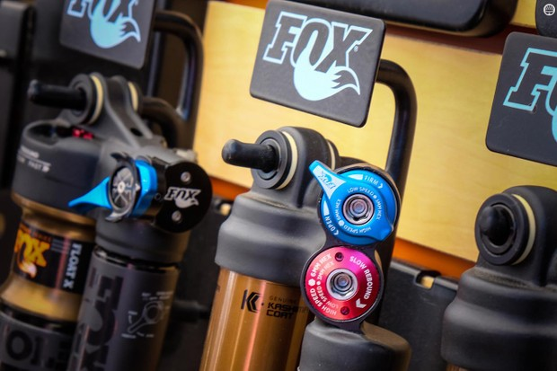 The X2 and DHX2 shocks finally get switches to firm them up for climbing