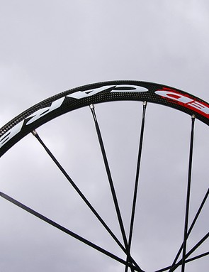 The carbon rim is expected to be lighter and stiffer than equivalent aluminium hoops.